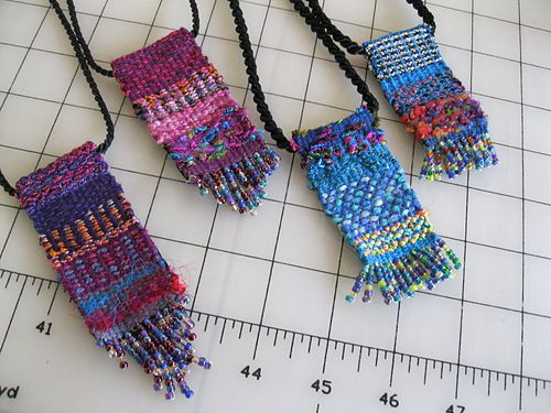 Ravelry: dinahrose's Tapestry pendants