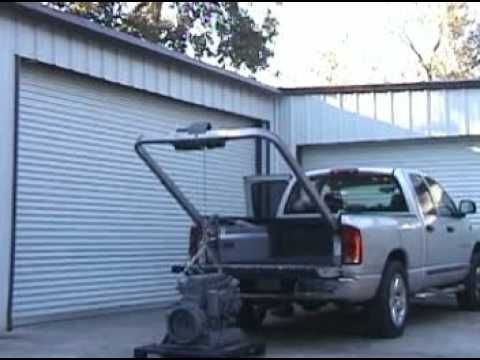 youtube how to set up eagle rear fold camper trailer