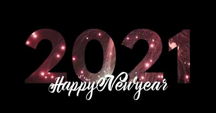 Happy Newyear 2021 Video Template Social Media Template Social Media Graphics Social Media