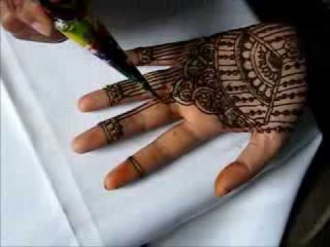 Elegant Henna/Mehndi Simple Bridal Design