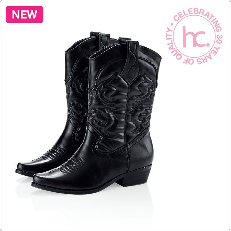 New Emerson calf boots Sizes: 3 - 8 Available in black and brown From R699 cash or only R88 a month! Shop now >> http://www.homechoice.co.za/Fashion/Shoes/Emerson.aspx