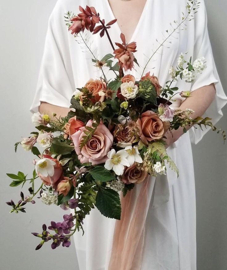50 Off On My Plant Dyed Silk Ribbons Labor Day Sale Perfect Time To Grab All You Need For The Fall We Flower Bouquet Wedding Bridal Bouquet Wedding Bouquets