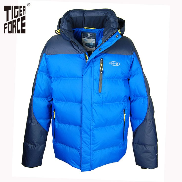 Find More Down Jackets Information about TIGER FORCE 2016 High Quality Men Fashion Duck Down Jacket Winter Blue Down Coat With Hood European Size Free Shipping D 596A,High Quality zipper slides,China zipper image Suppliers, Cheap zipper thong from TIGER FORCE on Aliexpress.com