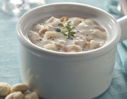 Legal Seafood's New England Clam Chowder: Our award-winning recipe is full of tender Cape Cod clams, cream and herbs. It has been served at every Presidential inauguration since 1981. It's perfect for any party — political or otherwise.