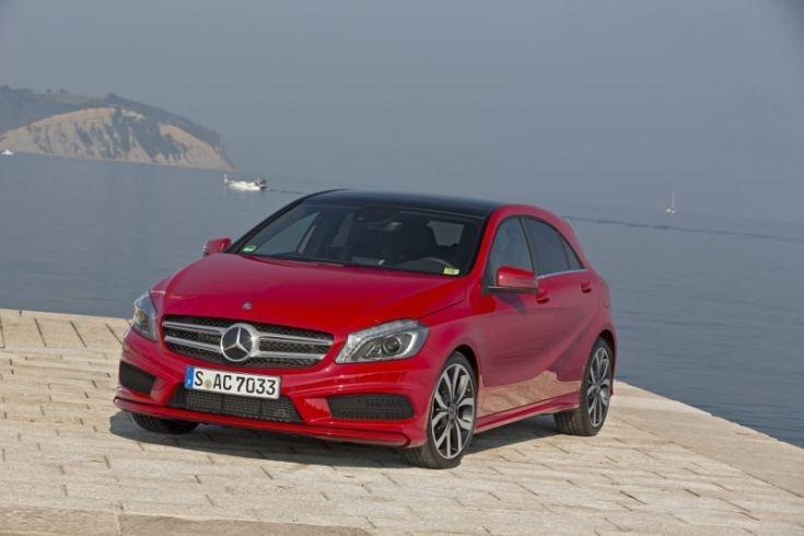 Mercedes A 200 CDI: Flach, bullig, sportlich