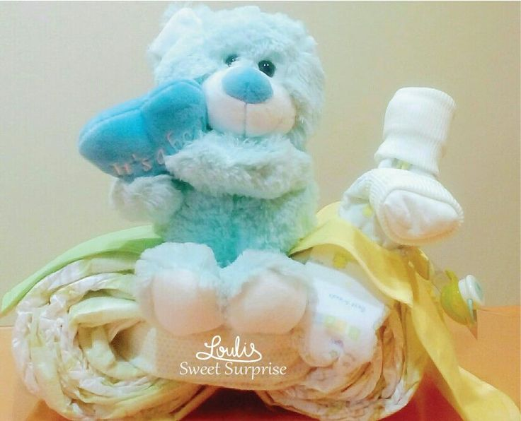 Diaper motorcycle Diaper cake #Loulis_Sweet_Surprise
