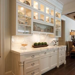 Built In Plate Rack, Transitional, kitchen, W Design