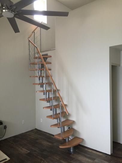 Modular 12 Tread Stair Kit