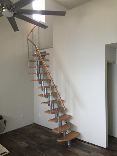 25 best ideas about stair kits on pinterest wood stair for Loft kits home depot