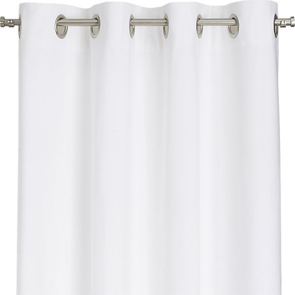 For Informational Purposes:  Wallace White 52x96 Grommet Curtain Panel from Crate and Barrel.  Sell for $359.80 for 4 panels.