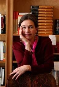 Novelist, poet and Native American literary icon Louise Erdrich, member of the Turtle Mountain Band of Chippewa Indians.