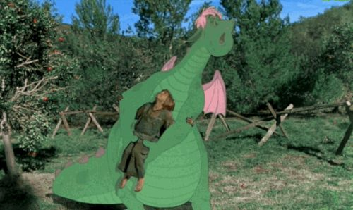 """You know, the charming 1977 Disney musical about an orphan boy named Pete (Sean Marshall) and his best friend, a dragon named Elliott?   Why """"Pete's Dragon"""" Is The Most Disturbing Disney Musical Ever"""