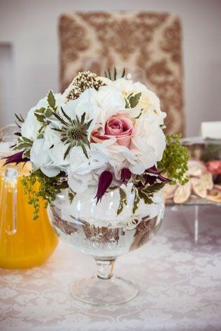 Мятно-золотая свадьба Алексея и Александры