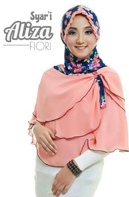 Jilbab Jumbo Terbaru Mewah Cantik Modis ALIZA By Fiori Design