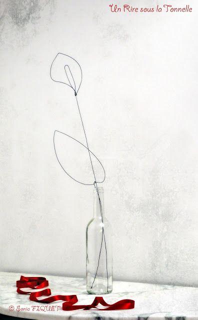 wire art - flower