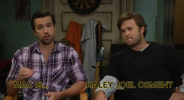 I have always said these two were the same | Meet The New Cast Of It's Always Sunny In Philadelphia
