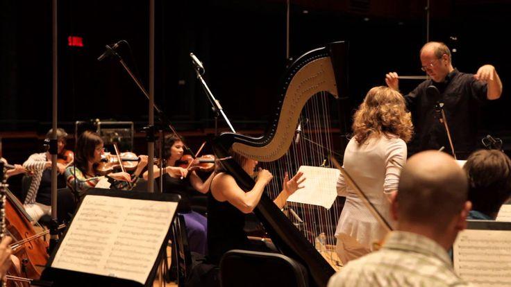 Valérie Milot et Les Violons du Roy - Mozart/Concerto for flute and harp... Musique classique / Classical Music. Production Analekta
