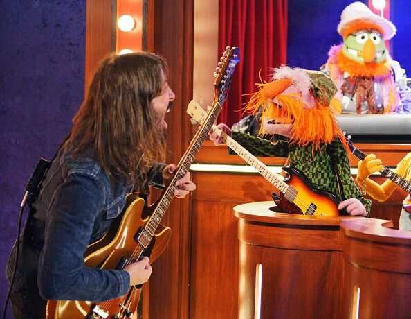DG doing the Muppets gig