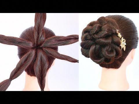 new latest messy bun hairstyle with amazing trick || party hairstyles || new hai…