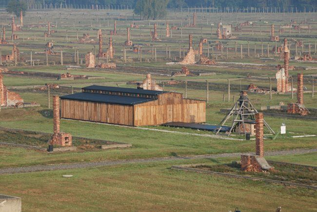 Half of the original prisoners' wooden barracks from the Nazi German concentration and extermination camp Auschwitz II—Birkenau returned to Poland after more than two decades of being loaned to the United States Holocaust Museum in Washington.   More:  http://en.auschwitz.org/m/index.php?option=com_content&task=blogcategory&id=97&Itemid=7