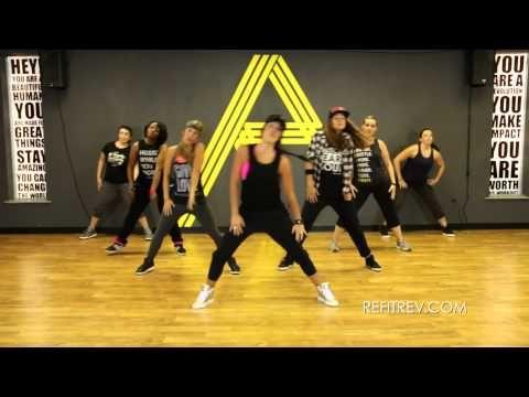 """Bombastic"" || Bonnie McKee || Dance Fitness Choreography || REFIT® Revolution - YouTube  60 mins zumba, 393 calories, 7/29/15"