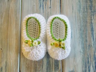 How To - Simple and Quick Newborn Baby Booties