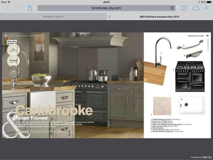 B&Q kitchen