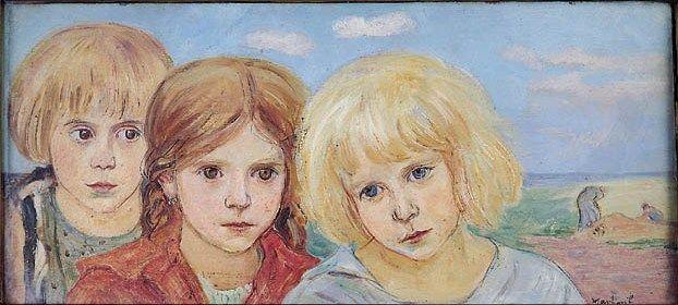 Three Children - Vlastimil Hofman