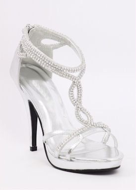 silver heels for prom | Shoes for prom 2012 www.shopzoey.com Silver high heels for prom www ...