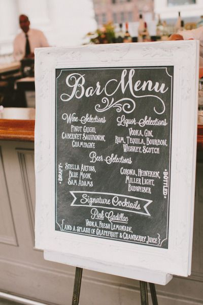 Bar snacks: http://www.stylemepretty.com/new-york-weddings/new-york-city/manhattan/2015/04/16/casually-elegant-summer-wedding-at-bryant-park-grill/ | Photography: Henry & Mac - http://henryandmac.com/