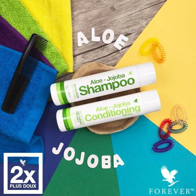 Uudistuneet Aloe Shampoo ja hoitoaine