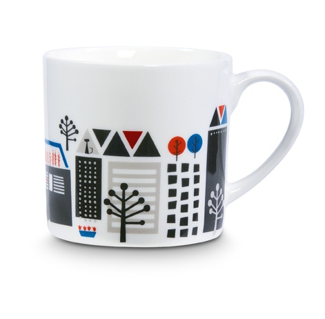 CITTA DESIGN / Winter 2012 Collection / Tokyo: Collision of Contrasts / Mug www.cittadesign.com
