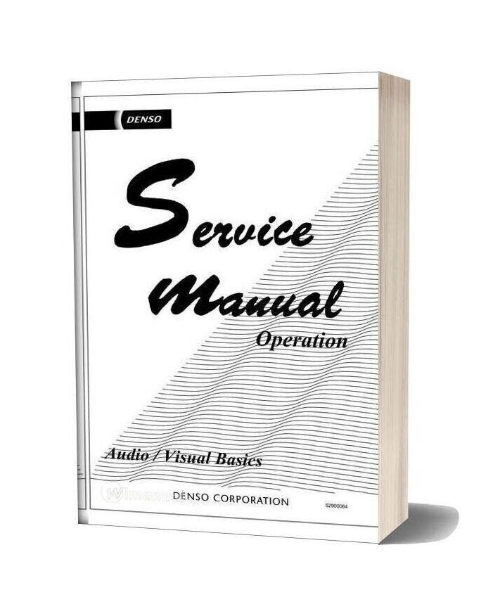 Service Manual Operation Audio Visual Basics In 2020 Audio Basic Manual