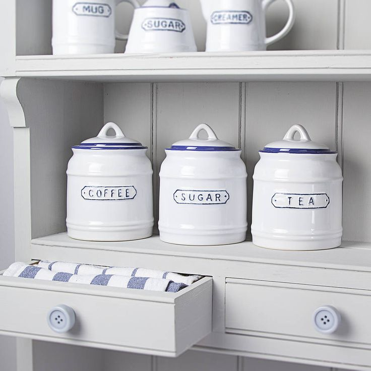 Vintage Style Nautical Kitchen Jars from notonthehighstreet.com