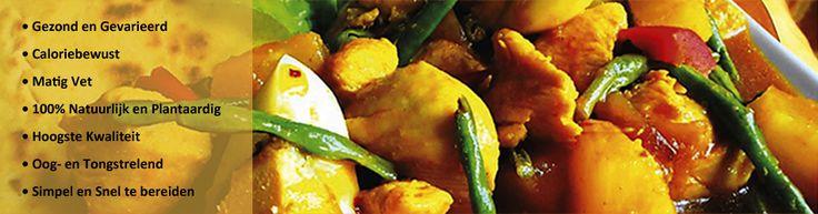 Surinaams eten – Snelle Roti Kip Masala met gebakken hardgekookte eieren,  kousenband en krieltjes