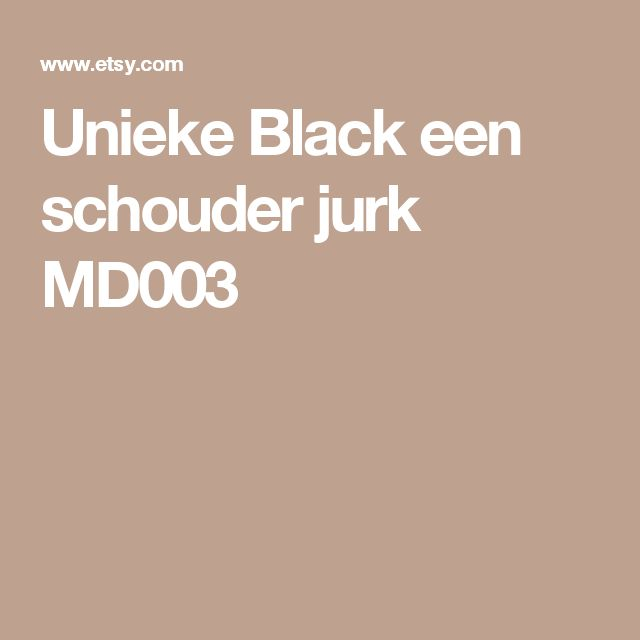 Unieke Black een schouder jurk  MD003