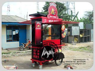 Jasa Desain Logo Kuliner |  Desain Gerobak | Jasa Desain Gerobak Waralaba: Produksi Gerobak Dorong Kedai Java Ramen