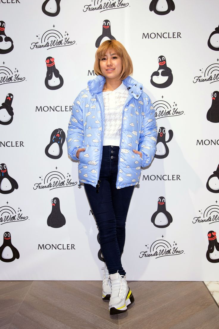 Imalu at the #MonclerGinza Grand Opening