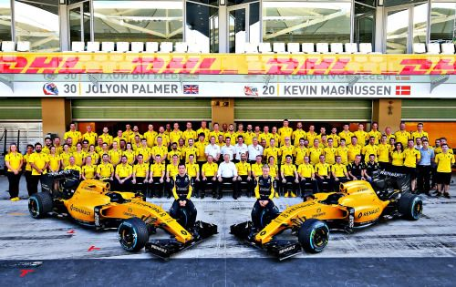 Jolyon and Kevin Renault F1 team 2016