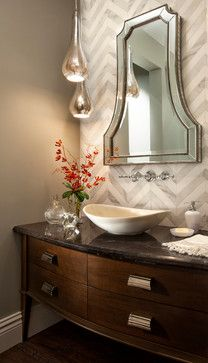 19 Ways to Go Wild with Powder Room Lighting - Lights Online Blog