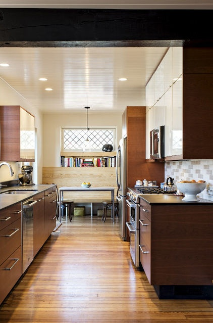 Kitchen of the Week: Past Lives Peek Through a New Kentucky Kitchen    Converted during Prohibition, this Louisville home has a history — and its share of secrets. See how the renovated kitchen makes use of them