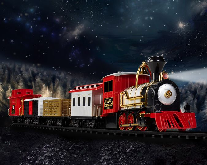 motorized train set for adults