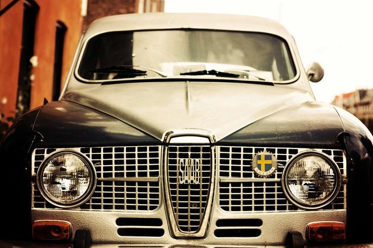 Vintage SAAB Automobile