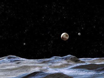 G.A.B.I.E.: Grietas en la luna gigante de Plutón podrían indic...