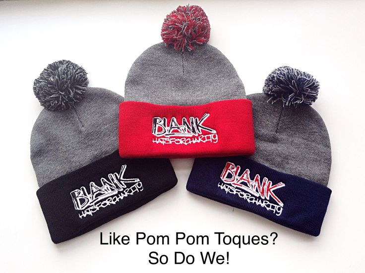 It got cold quick!  Get a great toque for a good cause!