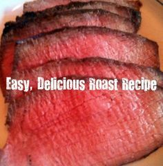 Great advice on cooking the perfect rump roast. Thanks to our own Claire Pearson. Enjoy! High heat for 17 mins...then turn off the oven for 1 1/2 hours. Potatoes (in a separate dish) come out crispy on the outside and perfect on the inside!