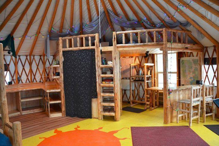 Yurt loft                                                                                                                                                                                 More