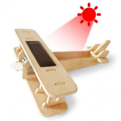 RoboTime - Solárne lietadlo - Dvojplošník