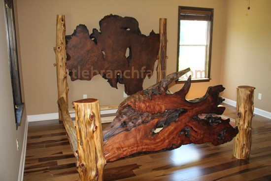 25 best ideas about rustic log furniture on pinterest for Camas rusticas