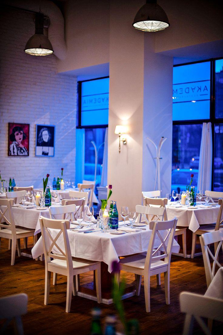 Restauracja Akademia, Akademia Warszawa, Najlepsza restauracja Warszawa, Restauracja Mokotów, Najlepsza restauracja Mokotów